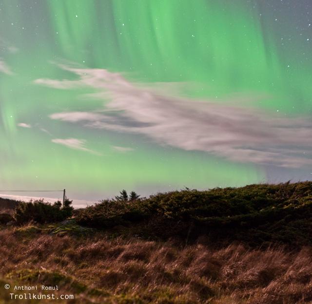 trollkunst10 nordlys frøya north light aurora borealis klæbu kommune tanem northern lights sparebank